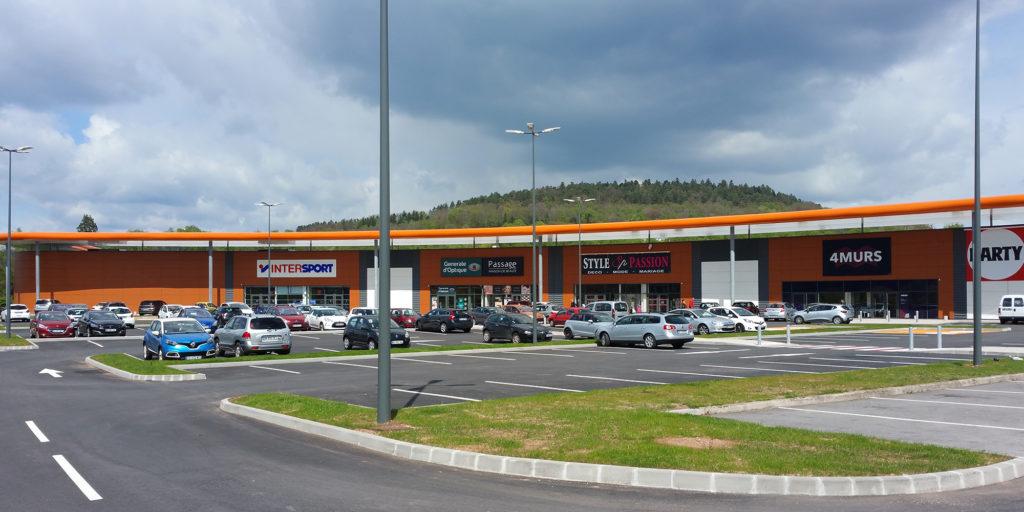 Bâtiments d'activités commerciales Saint-Dié-des-Vosges