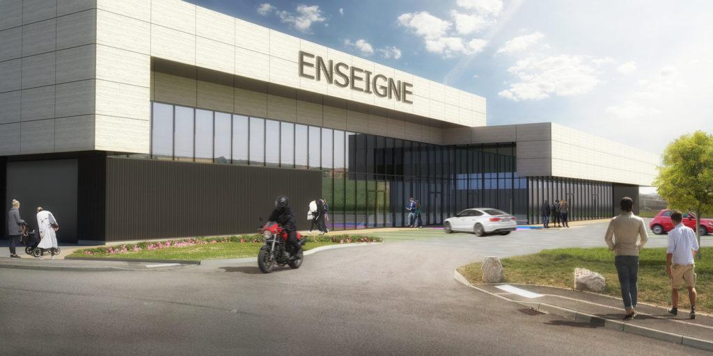 Bâtiment d'activités commerciales Wasselonne